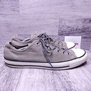 Converse Chuck Taylor All Star Summer Woven Low Top Sneaker Gray Men's sz 12